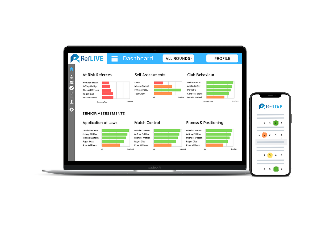 All your Referee Management needs in one platform.