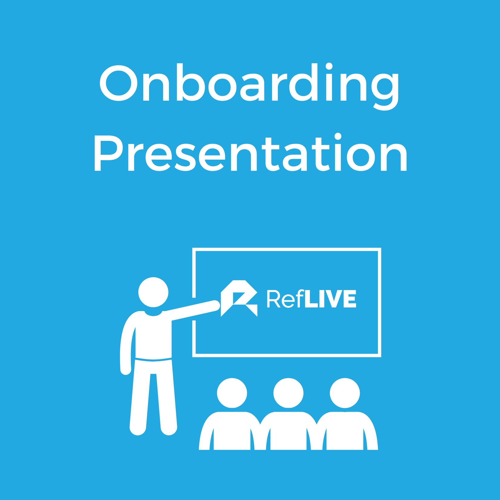 Onboarding Presentation